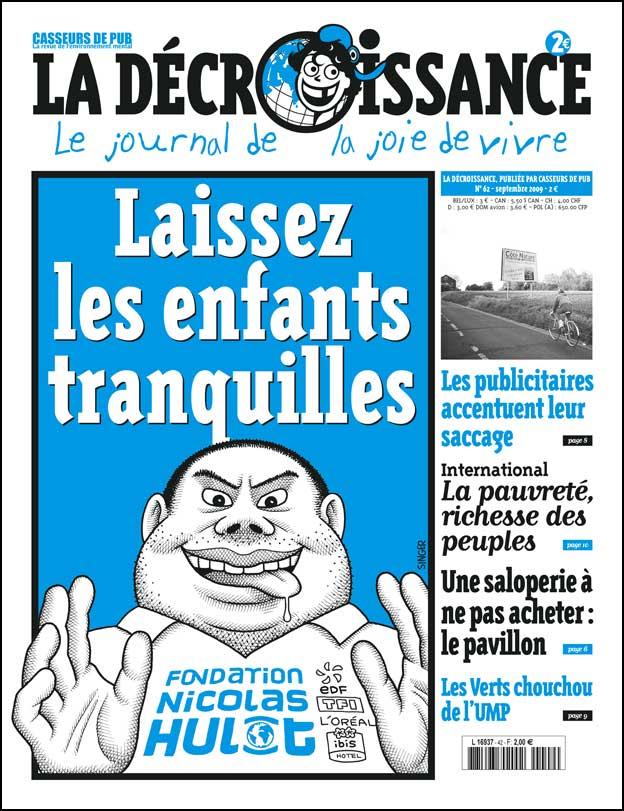 couverture du journal